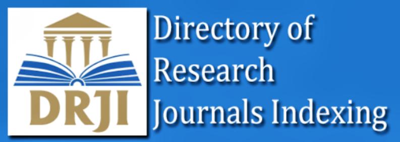 نتيجة بحث الصور عن Directory of Research Journal Indexing (DRJI)